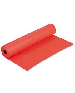 "Pacon® Rainbow Duo-Finish Colored Kraft Paper, 35Lb, 36"" X 1000Ft, Orange"