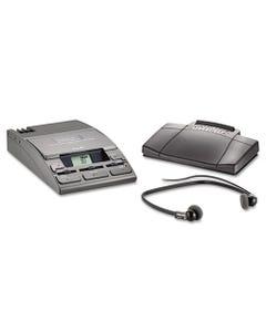 Philips® 720-T Desktop Analog Mini Cassette Transcriber Dictation System W/Foot Control