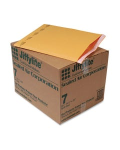 Jiffylite Self Seal Mailer, #7, 14 1/4 X 20, Golden Brown, 50/carton