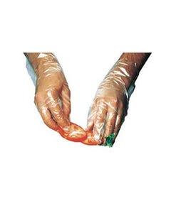 Poly Foodservice Glove, Medium, 100/PK 10PK/BX