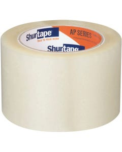 AP 201® Production Grade Acrylic Packaging Tape - Clear - 2 mils - 72mm x 100m - 1 Case (24 Rolls)