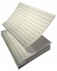 """14.675""""x11 Continuious Feed Office Paper, 20#, No Perforation, 2,700/CS"""