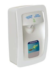 PRESERVATION Brand Designer Series Foam Wall Sanitizer Dispenser, White, Manual, For 1000mL Refill Bags