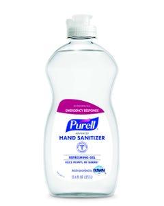 Purell Emergency Response Advanced Hand Sanitizer, Refreshing Gel, 12.6OZ Squeeze Bottle, 12/CS