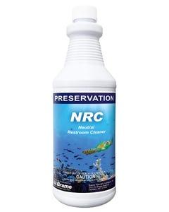 PRESERVATION Brand NRC Neutral Restroom Cleaner, Hospital Grade Disinfectant, 12QT/CS