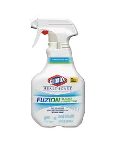 Fuzion Cleaner Disinfectant, Unscented, 32 Oz Spray Bottle, 9/carton