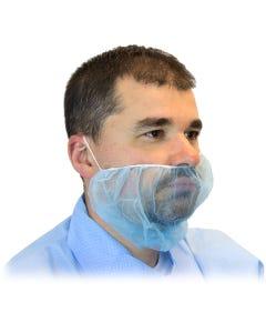 Safety Zone Blue Beard Cover, 100/BG 10BG/CS