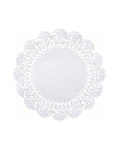 """White Cambridge Lace Doiliy, 6"""", 1000/CS"""
