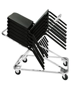 Stacked Chair Dolly For Melody Chair
