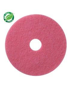 "PRESERVATION Brand 20"" Flamingo Scrubbing Floor Machine Pad, 5/CS"