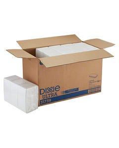 "Dixie Ultra® White Dinner Napkin, 3 Ply, 17""X17"", 1/8 Fold, 2000/Cs"