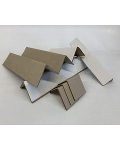 """White Cornerboard, 2.5""""x2.5""""x56"""", 1200/SK"""