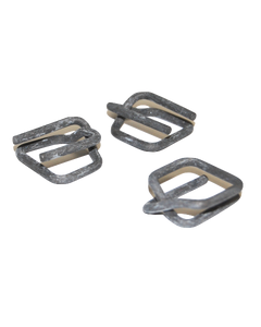 """1/2"""" Heavy Duty Wire Buckles for Poly Strapping, 1000/CS"""