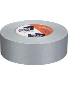 PC 600 Contractor Grade, Co-Extruded Cloth Duct Tape - Silver - 9 mils - 48mm x 55m - 1 Case (24 Rolls)