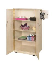 "Teacher's Locking Cabinet, 65""H x 31""W x 26""D"