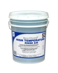SparClean High Temperature Rinse Aid w/Insert Unscented 5 GA Pail