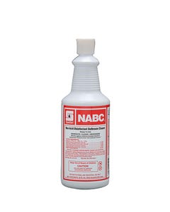 NABC Mild Non-Acid Bowl Cleaner, 1QT 12/CS